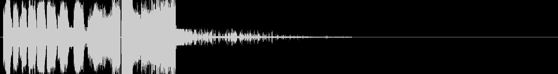 クランシーバージョン1の未再生の波形
