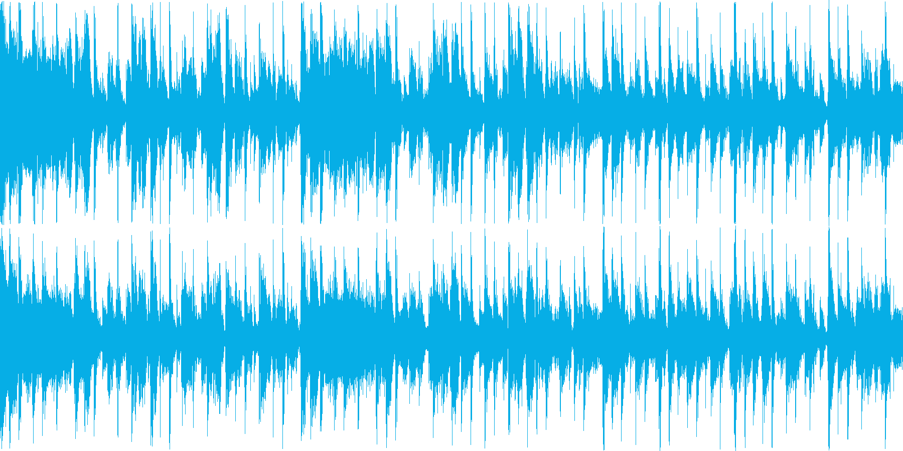 クールでセクシーなファンクトラックの再生済みの波形