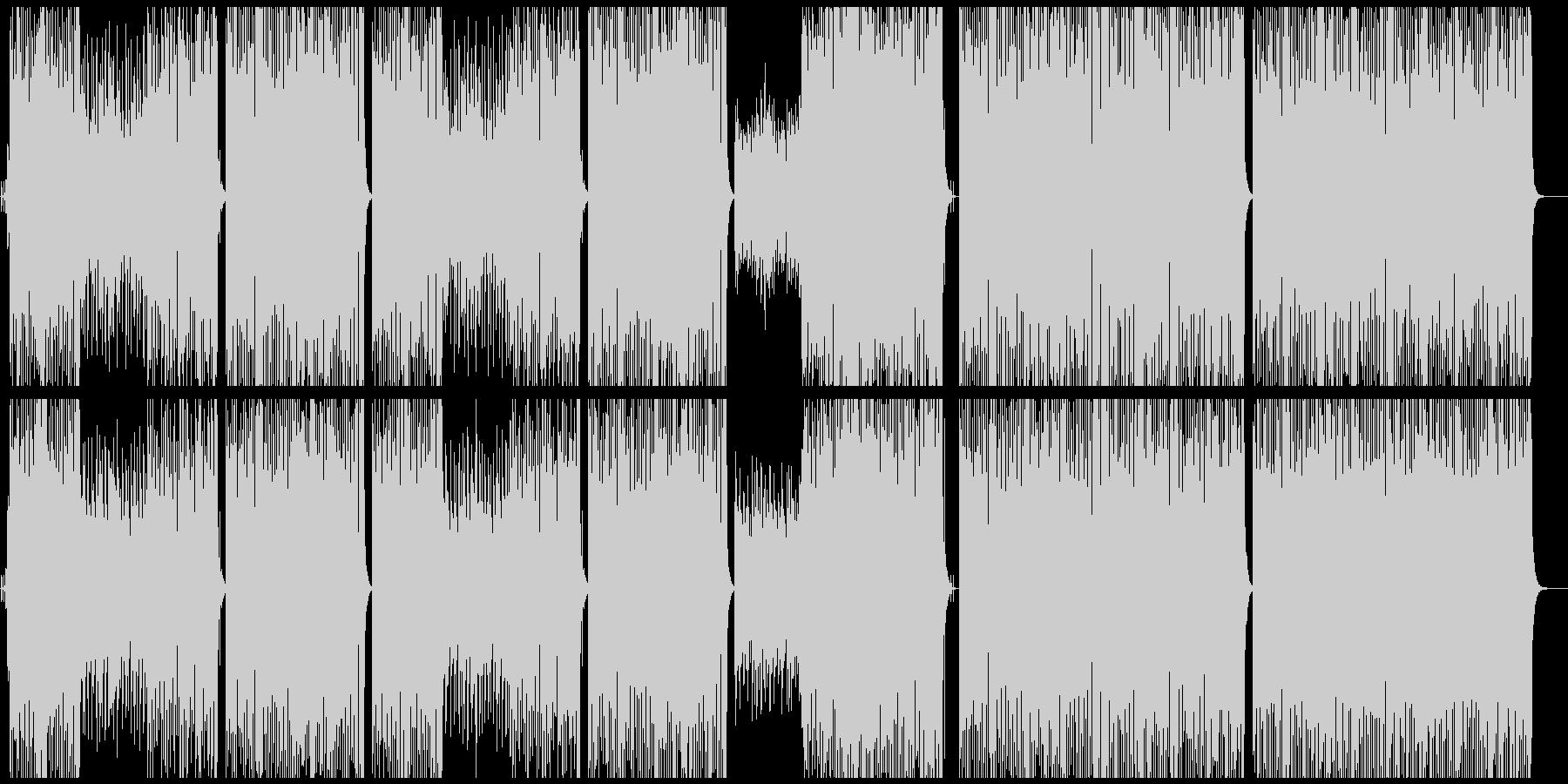 ビッグバンドジャズ//ピアノ/サックスの未再生の波形