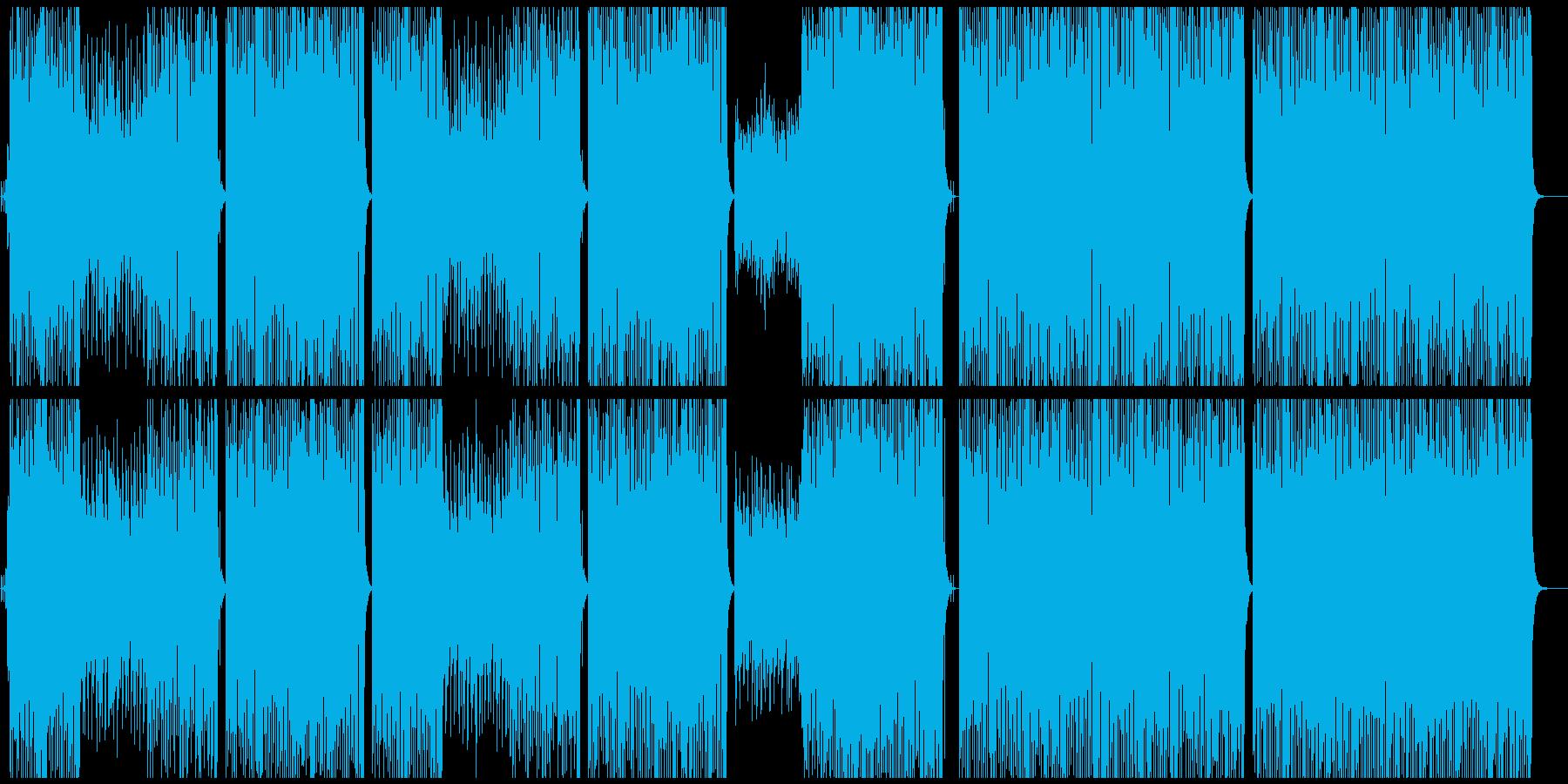 ビッグバンドジャズ//ピアノ/サックスの再生済みの波形