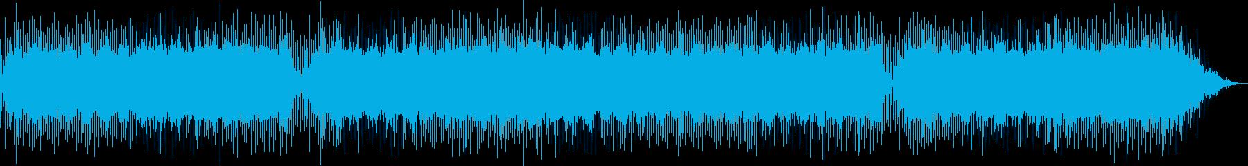 幻想的なフィーリングミュージックの再生済みの波形