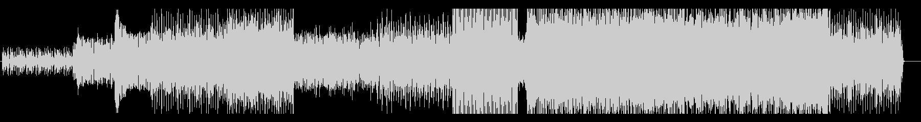 おしゃれでリズミカルなループ系BGMの未再生の波形