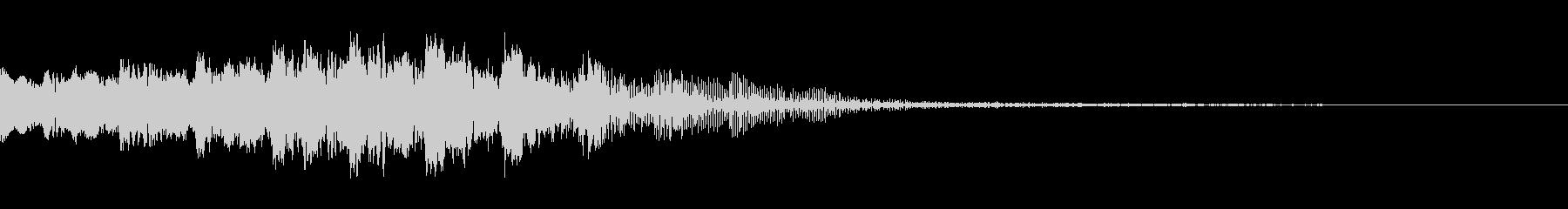 電子音(画面転換等の未再生の波形
