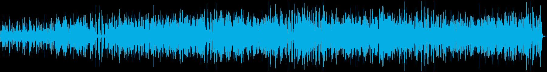 ほのぼの南国の浜辺のジャズ_エギゾチカの再生済みの波形