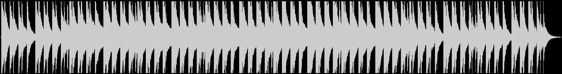 ピアノのバラード系BGMの未再生の波形
