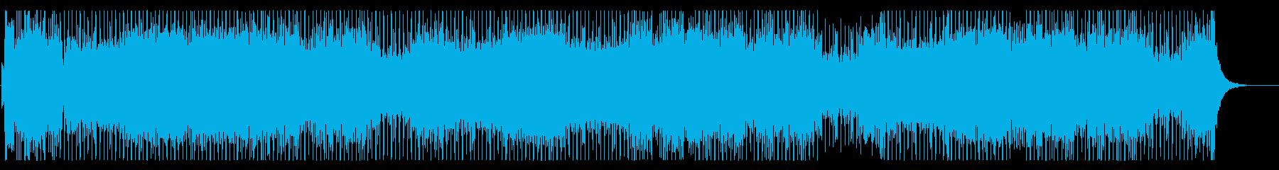 昭和 特撮ヒーロー的BGMの再生済みの波形