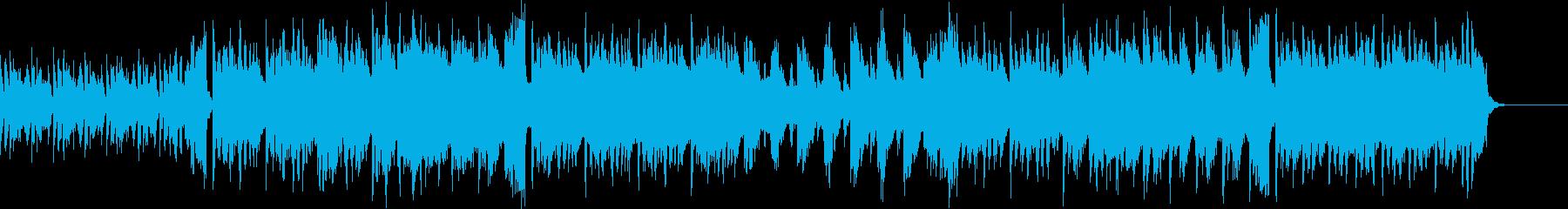 木琴☆ベルが奏でるおしゃれで小気味よい曲の再生済みの波形