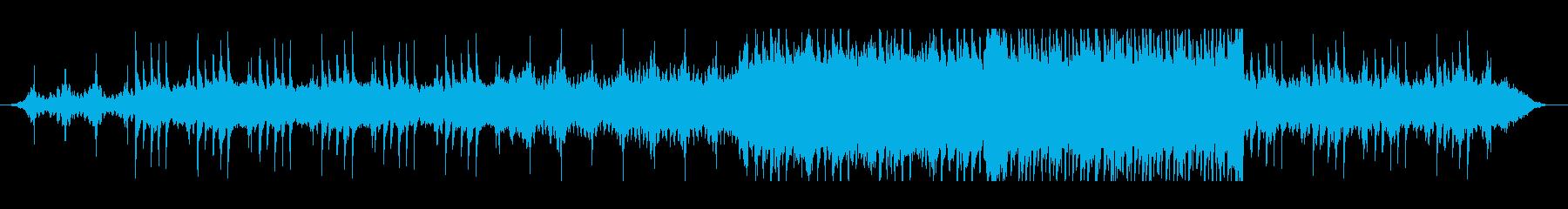 悲しく疾走感のあるピアノ・エレクトリックの再生済みの波形