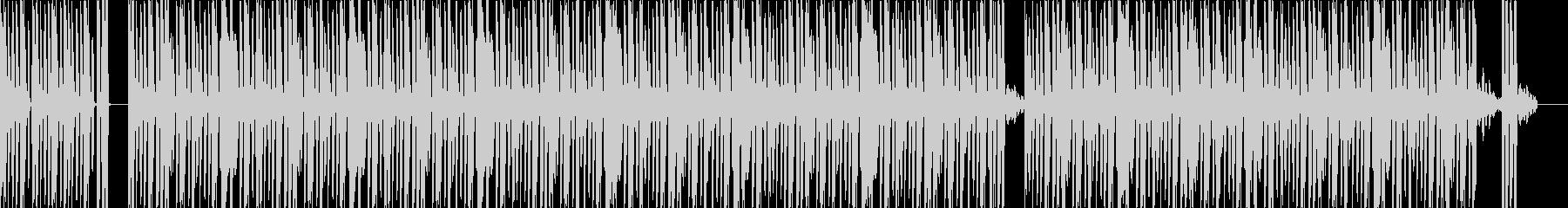 ライブ風の緊張感に引き込まれるビートの未再生の波形