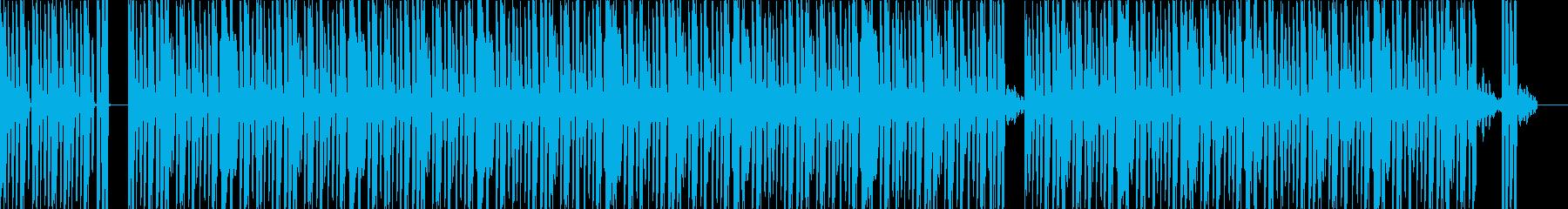 ライブ風の緊張感に引き込まれるビートの再生済みの波形