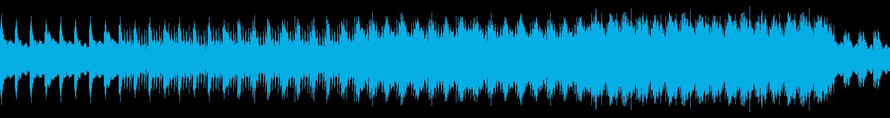 謎解き・緊張・ゲーム・劇伴・ループの再生済みの波形