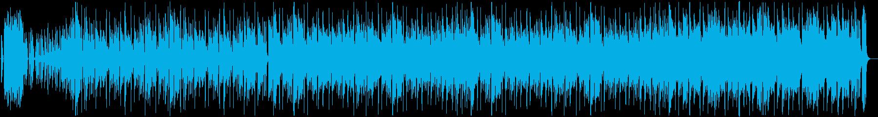 おしゃれでかっこいいジャズヒップ・ホップの再生済みの波形