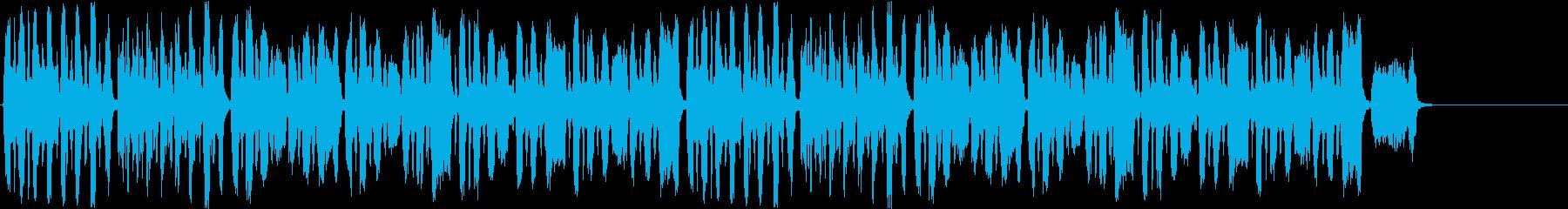 ボリビアのパイプで演奏された古いカ...の再生済みの波形