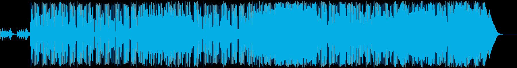 明るく軽快なギターポップの再生済みの波形