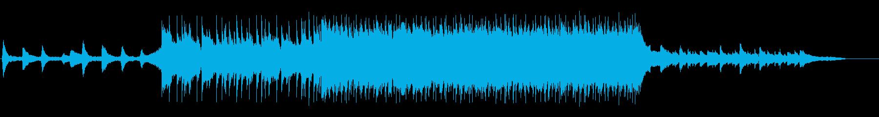 VP系27C、スポーツ系、爽やかロックの再生済みの波形