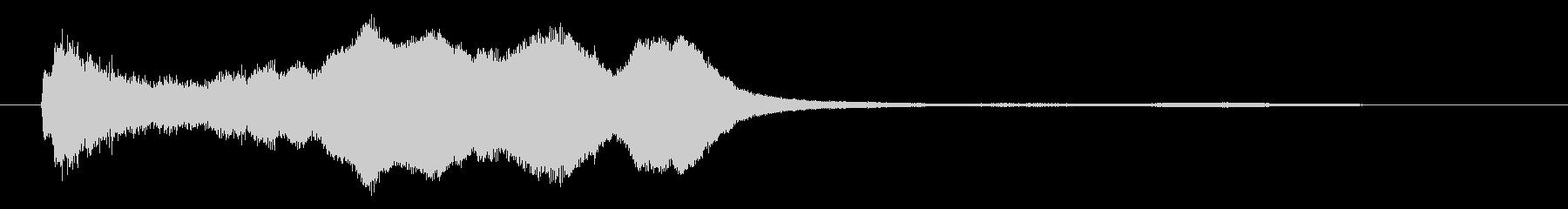ホラー☆ガラスを引っ掻いたような効果音の未再生の波形