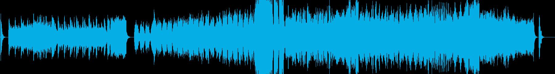 クラシカル・ほのぼの・おしゃれなワルツの再生済みの波形