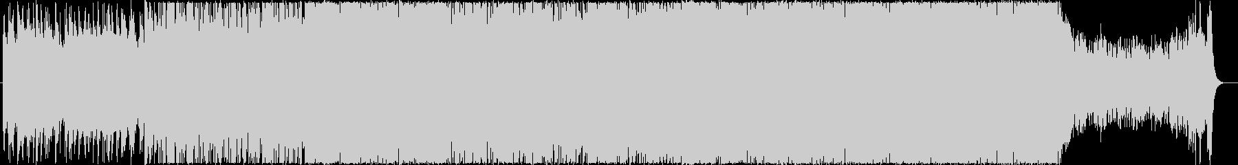 有名な伝統音楽のフォークメタルアレンジの未再生の波形