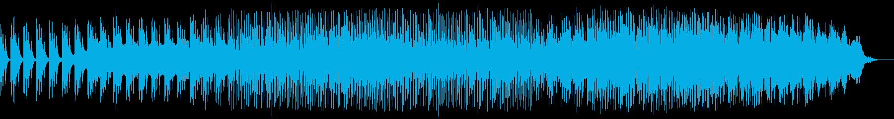 深い眠りへと誘うジャズ風アブストラクトの再生済みの波形