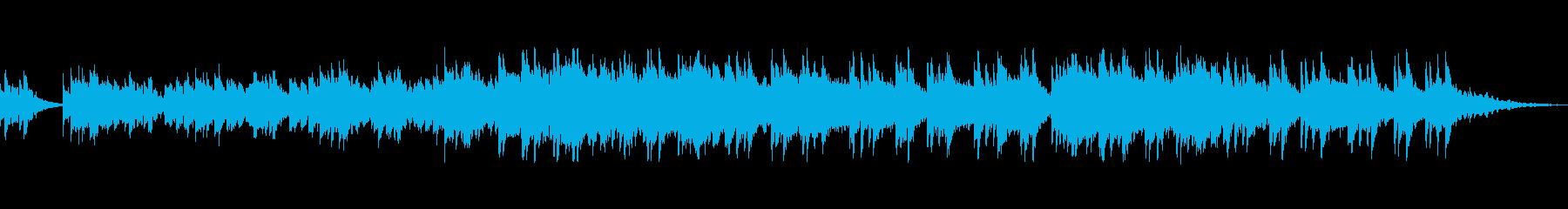 爽やかでやわらかいメロディーの再生済みの波形