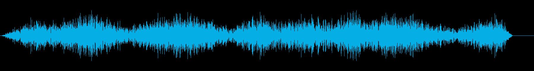 ウィンドランブル2;不気味な、昇順...の再生済みの波形