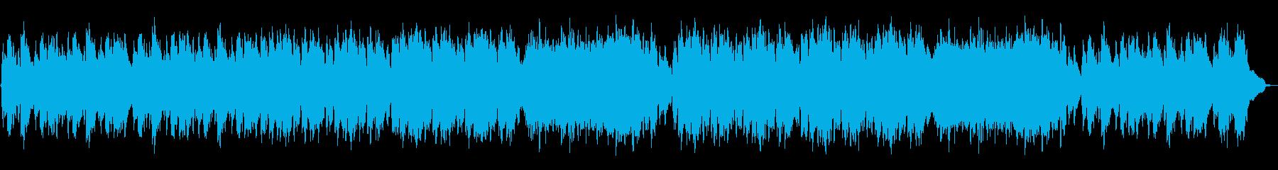 静けさ・優しい・切ない・ケルト風BGMの再生済みの波形