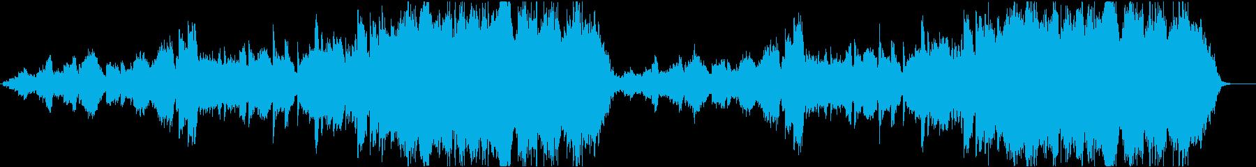 後ろめたい恋の物語ピアノアンサンブルの再生済みの波形