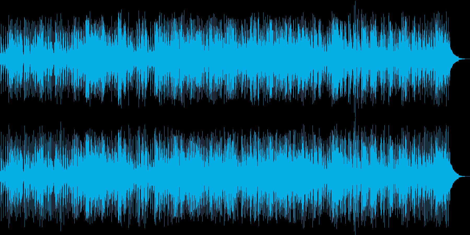 軽快、おしゃれに奏でるファスト・ジャズ の再生済みの波形