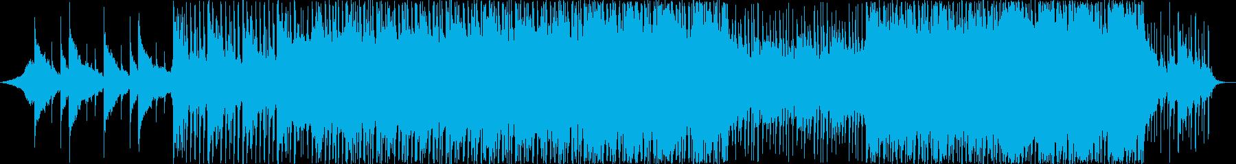 ポップ アクション 技術的な 繰り...の再生済みの波形