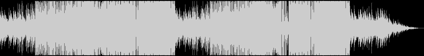 ノリがいい可愛いサウンドのEDMの未再生の波形