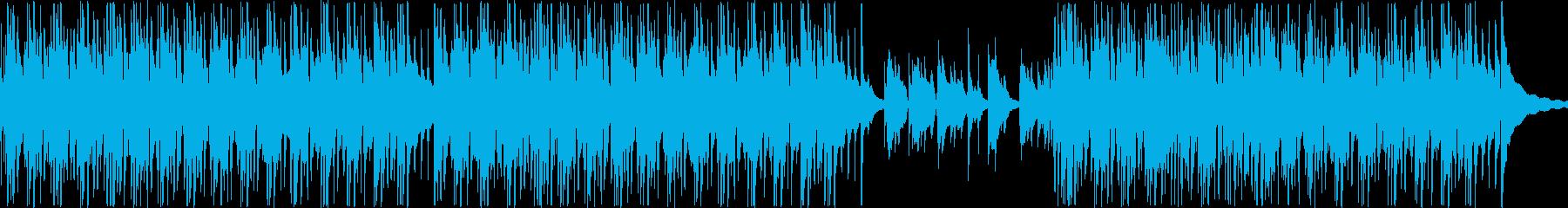 ウクレレと自然なアコースティックサウンドの再生済みの波形