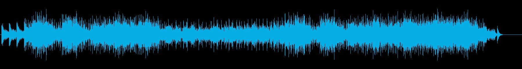 さりげない爽やかさのフュージョンの再生済みの波形