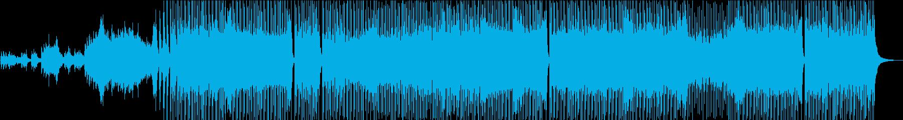 ピアノメロドラマスタイルのイントロ...の再生済みの波形