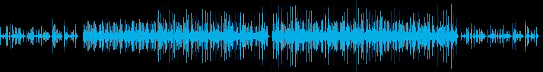 弦楽器と打楽器のどっしりとしたBGMの再生済みの波形