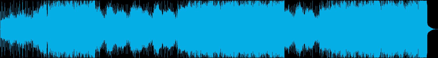陽気でエネルギッシュなインディーロ...の再生済みの波形