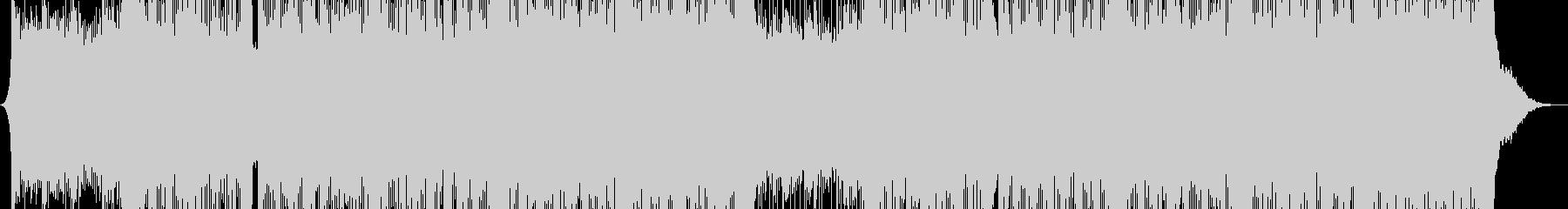 トラップの要素を持つヒップホップの未再生の波形
