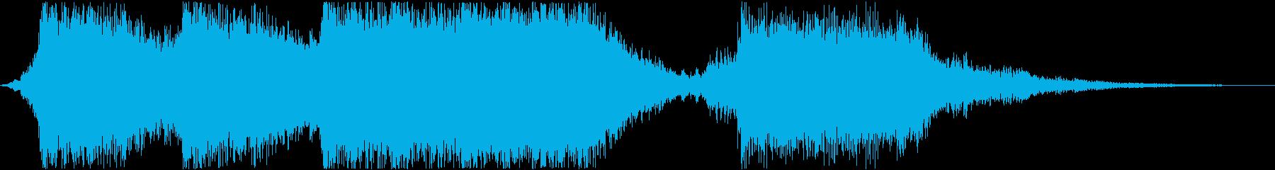 アクションハイブリッドトレイラー15秒の再生済みの波形