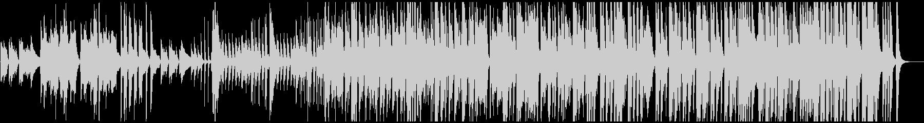 和太鼓・篠笛を使った「あめふり」JAZZの未再生の波形