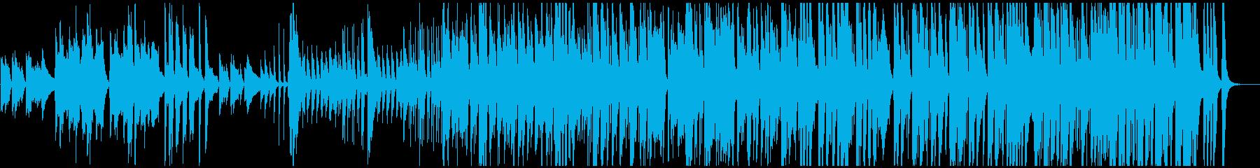 和太鼓・篠笛を使った「あめふり」JAZZの再生済みの波形
