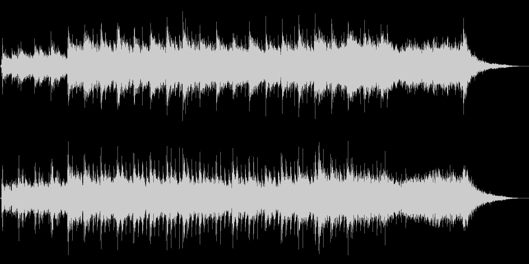 優しく静かなピアノのヒーリングBGMですの未再生の波形