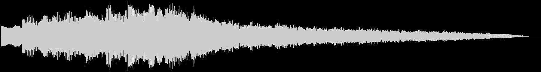 キラキラリーン上昇(ウィンドチャイム風)の未再生の波形