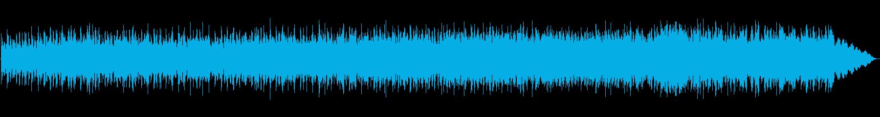 あかるくリズミカルでアフリカンな曲の再生済みの波形