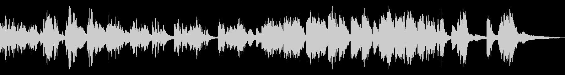 切ない/静かな和風曲13-ピアノソロ の未再生の波形