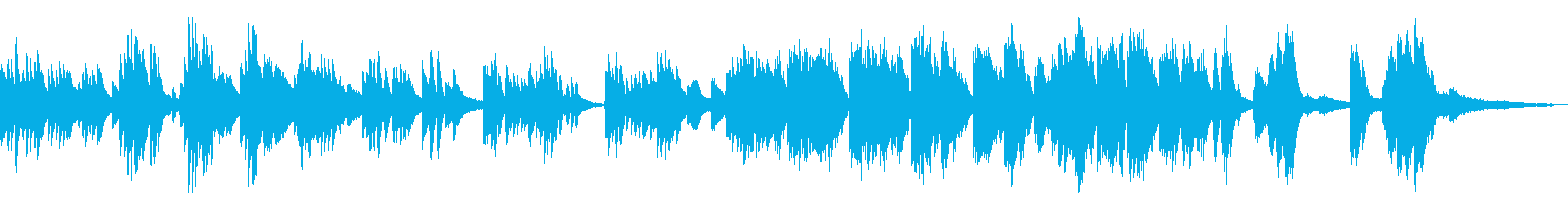 切ない/静かな和風曲13-ピアノソロ の再生済みの波形