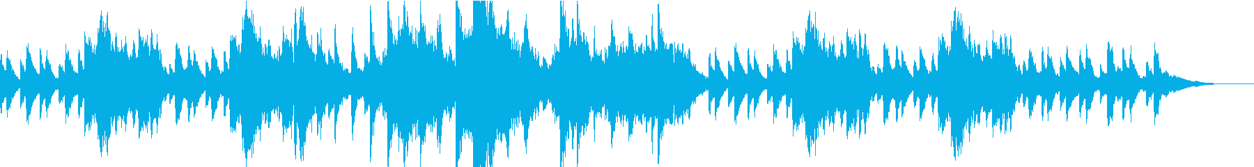 ジムノペディを幻想的なソプラノで歌っての再生済みの波形