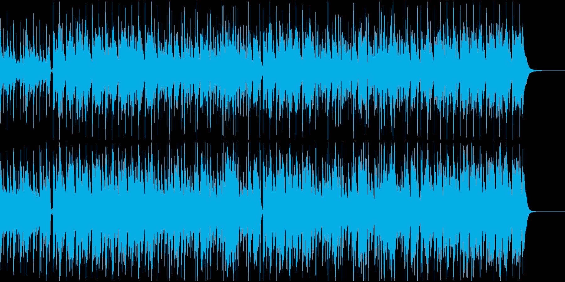 かわいいが少しあやしげで不思議で怖い曲の再生済みの波形