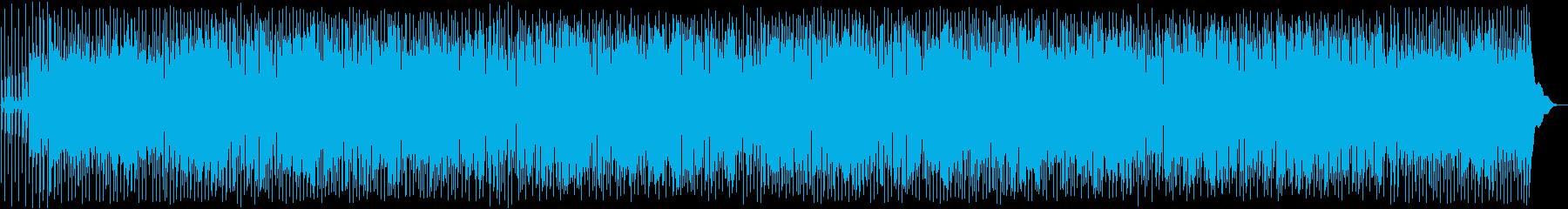 ダークでジャジーな雰囲気のポップスBGMの再生済みの波形