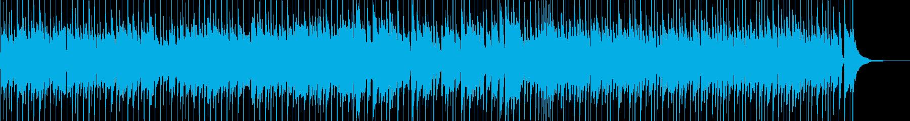 生アコギ!爽やかで前向きポップなBGMの再生済みの波形