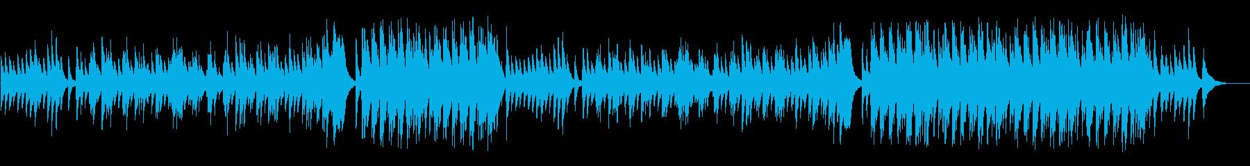 二人の時が静かに流れるアダルト風バラードの再生済みの波形