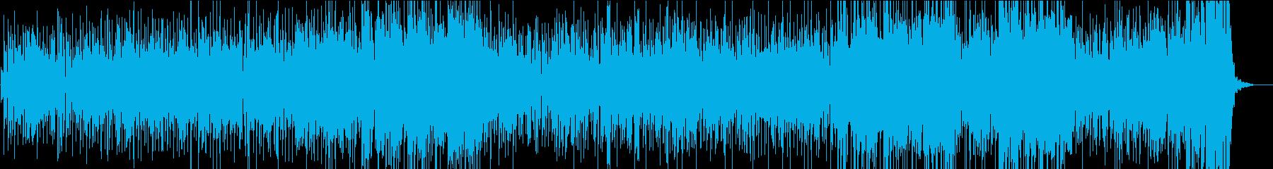 陽気でキャッチーなフュージョンサウンドの再生済みの波形